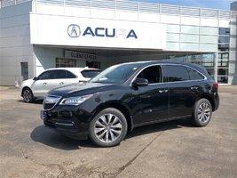 2014 Acura MDX NAVI   TINT   OFFLEASE   3.4%   290HP