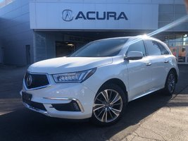 2017 Acura MDX ELITE   NAVI   DVD   RAILS   1OWNER   OFFLEASE