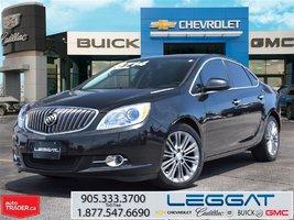 2014 Buick Verano LEATHER EDITION/CONVENIENCE PKG 1&2/NAV