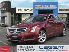 2014 Cadillac ATS LEATHER/CPO/AWD