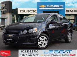 2015 Chevrolet Sonic LT / REMOTE START / HEATED FRT. SEATS