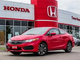 2015 Honda Civic Coupe EX..ONE OWNER..CLEAN CARPROOF