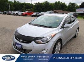 2013 Hyundai Elantra Limited w/Navi  $113 B/W! LOADED!
