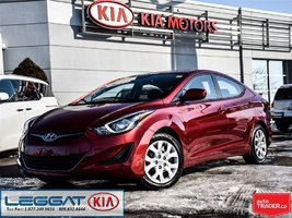 2016 Hyundai Elantra GL - No Accident, LOW KM, Heated Seat, Bluetooth