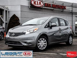 2014 Nissan Versa Note SV - One Owner, No Accident, VERY LOW KM!