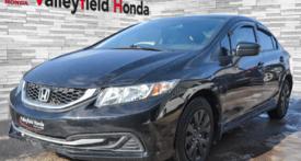 Honda Civic Sedan DX VITRES ÉLECTRIQUES PRISE AUX 2014