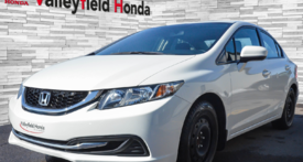 Honda Civic Sedan EX AUTO  A/C TOIT MAGS  PNEUS HIVERS 2014