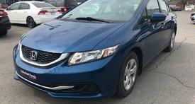 Honda Civic Sedan LX AUTO CRUISE BLUETOOTH A/C AUX 2014