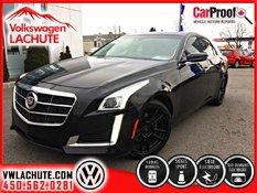 Cadillac CTS TURBO+2.0L+AWDR+4 PNEUS ÉTÉ/4 HIVER+56,600KM+ 2014