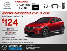 Mazda - Save on the 2018 Mazda CX-3 Today!