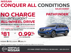 Nissan - Get the 2018 Pathfinder Today!
