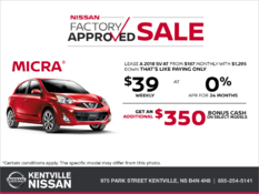 Nissan - Get the 2018 Micra Today!