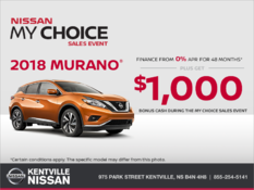 Nissan - Get the 2018 Murano Today!