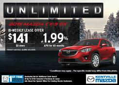Mazda - 2015 Mazda CX-5 GX - Lease it for $141