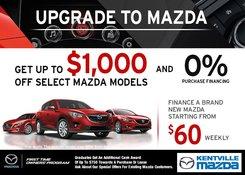 Mazda - Upgrade to Mazda Sales Event