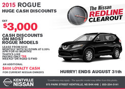 Nissan - Save on the all-new 2015 Nissan Rogue today!