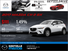Mazda - 2017 Mazda CX-3 GX -- Drive it Home Today!