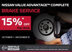 Nissan - Save on your next brake service!