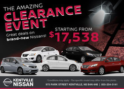 Nissan - The Amazing Clearance Event