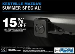 Mazda - Save 15% on all Trailer Hitches!