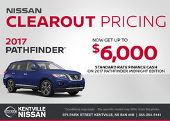 Nissan - Get the 2017 Nissan Pathfinder Today