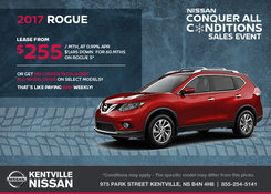 Nissan - Lease the All-New 2017 Nissan Rogue