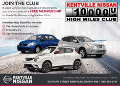 Nissan - Kentville Nissan High Miles Club