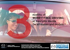 Mazda - Drive Worry-Free for 3 Months!