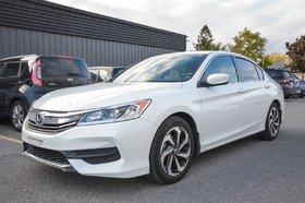 2016 Honda Accord Sedan LX MAGS A/C CRUISE BLUETOOTH CAMÉRA BANC CHAUFFANT