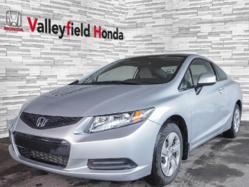 2013 Honda Civic Cpe LX AC GR. ÉLECTRIQUE SIÈGES CHAUFFANTS