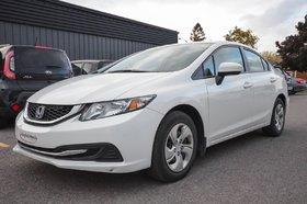 2014 Honda Civic Sedan LX CRUISE BLUETOOTH AC BANCS CHAUFFANTS