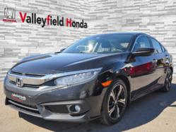 Honda Civic Sedan TOURING AUTO GPS CUIR TOIT MAGS 2016