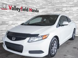 2012 Honda Civic EX COUPÉ TOIT AUTO AC MAGS