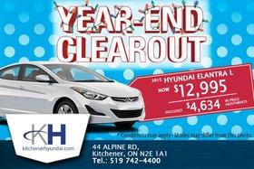Get the new 2015 Hyundai Elantra L!