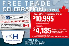 The Free Trade Celebration Event Is Now On!