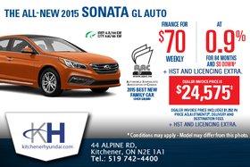 Get the 2015 Hyundai Sonata!