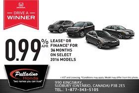 Honda's February Sales Event!