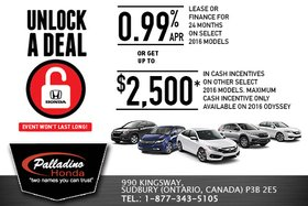 Honda's March Sales Event!