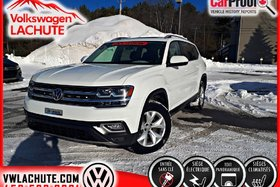 Volkswagen Atlas HIGHLINE + TOIT + SIÈGE CAPITAINE + CUIR + GPS + 2018