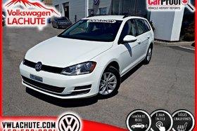 2015 Volkswagen GOLF SPORTWAGEN TRENDLINE + A/C + MAGS + CAMÉRA DE RECUL + 5 V +