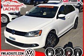 2013 Volkswagen Jetta HIGHLINE + TDI + DSG + CUIR + FENDER + GPS +