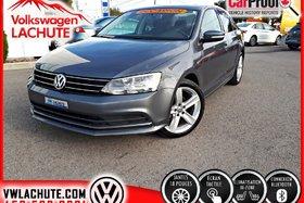 2015 Volkswagen Jetta COMFORTLINE + TOIT + MAGS 18 '' + TEMP 2 ZONES +