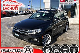 Volkswagen Tiguan COMFORTLINE + TOIT PANORAMIQUE + MAGS 17 PO. + 2013