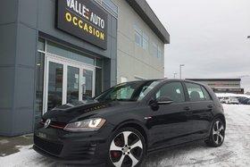 Volkswagen GTI AUTOBAHN**GPS,SIÈGES CUIR ÉLEC,TACTIL,ETC** 2016