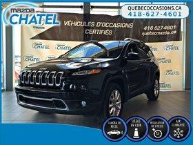 Jeep Cherokee LIMITED - CUIR - GPS- CAMÉRA DE RECUL 2016
