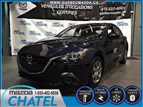 Mazda Mazda3 Sport GX-SKY - A/C - BLUETOOTH - GARANTIE KM ILLIMITÉ 2015