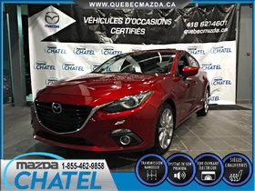 Mazda Mazda3 Sport GT 2015 **GARANTIE PROLONGÉE MAZDA INCLUSE**