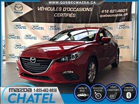 Mazda Mazda3 Sport GS - AUTO - SIEGES CHAUFFANTS- CAMÉRA DE RECUL 2015