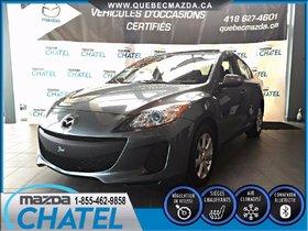 Mazda Mazda3 GS-SKY (MANUELLE A/C) 2012 **GARANTIE PROLONGÉE MAZDA INCLUSE**