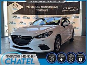 Mazda Mazda3 GX - A/C - BLUETOOTH - GARANTIE KM ILLIMITÉ 2015